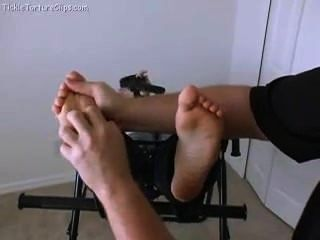 Tickling Alexis Barefeet