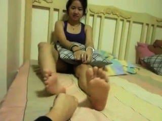 Tickling Asian
