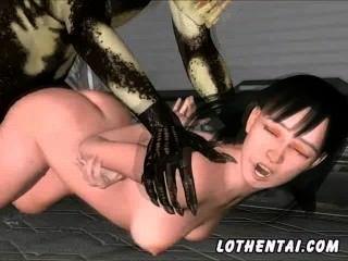 3d Girl Get Fucked By Predators