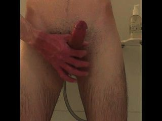 Masturbating In Shower