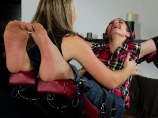 Marta Vs Jane Sexy Soles Tickled In Nylon & Barefoot