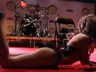 Rastia Bideth Dance Show On Stage In Erotic Festival By Viciosillos.com