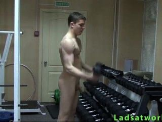 Straight Boy Nude Sport