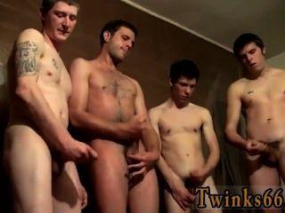 Gym lesson Piss loving boys