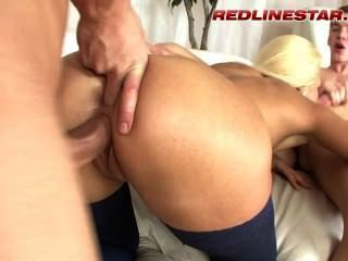 Hardcore Amateur Anal Sex Action By Horny European Girl