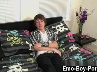 Twink Movie Of Cute New Emo Stud Devon Begins His Movie By Telling Us A