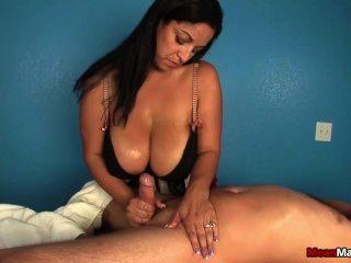 Girl in sauna nude