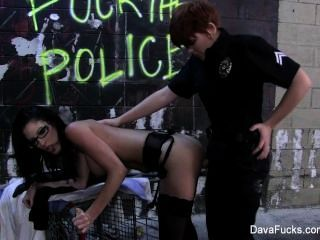 Dava Foxx Fucked By A Lady Cop