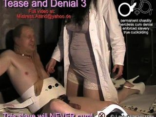 Chastity, Tease And Denial 3, Trailer