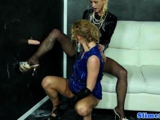 Classy Gloryhole Lesbos Fist And Foot Sex Fun