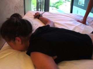 Zen Tickling Stephanie Vulnerable And Ticklish