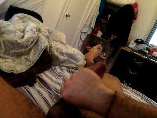 Masturbating And Cuming Hard.