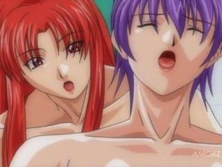 Anime girl with big tits