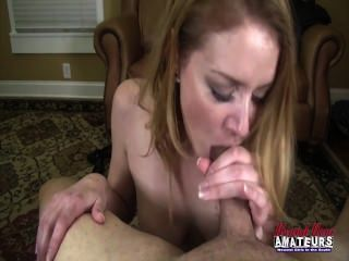 Amatuer Milf Takes All Of That Big Dick 2