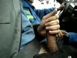 Allowed To Jerk Off In The Taxi