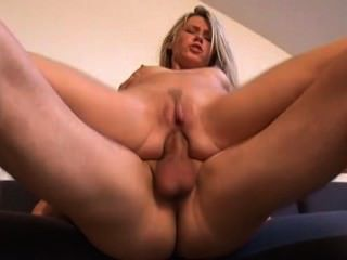 Blonde German Teen Painful Anal Fucking