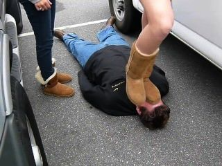 Getting Trampled By Ugg´s By Candid Girls
