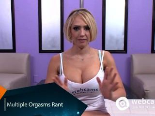 Live Show Interview Multiple Orgasms, Kagney Karter