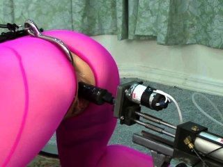 Bdsm Analhook Fucking Machine