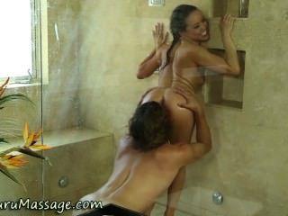 Nuru Massage Asian Licked
