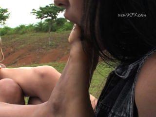 Brazil Lesbian Foot Fetish