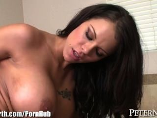 Peta Jensen Fucked In Bathroom By Big Dick