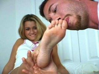 Worshipping Her Petite Feet