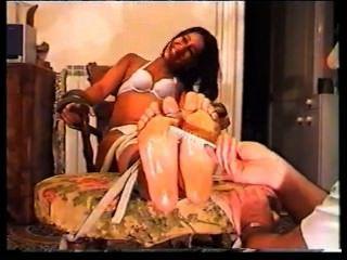 Italian Girl Tickled