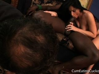 Latina Goddess Cucks Hubby With Bbc And Shows Him His Place In The World