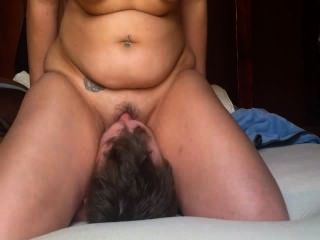 Pawg Wife Face Sitting And Squirting