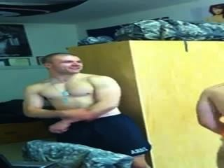 Really Hot Army Dudes Dance