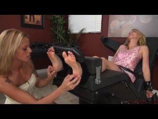 Foot Tickling Honey