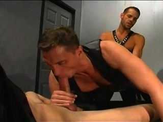 Leather Cigar Group Fuck