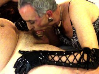 Sissy Sub Steven Sucking His Master