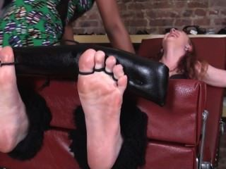 Stella Toetied And Tickled