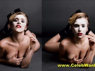 Lady Gaga Nude Costume Change And More