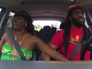 Lisa Rivera And Don Whoe Get Super Nasty In Our Truck!!