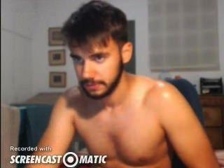 Sexy Guy Cums On Cam
