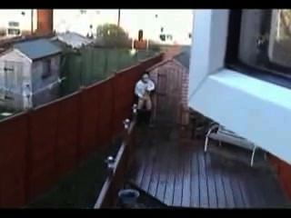 Caught Jerking On Roof