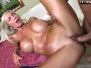 Geile blondine porno