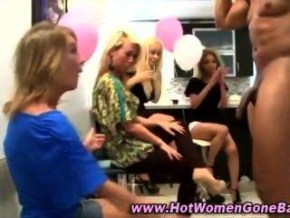 Cfnm Party Girls Cock Suck