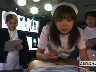 Subtitled Pov Japanese Nurses Hospital Oral Sex Seminar