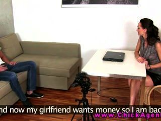 Eurosex Agent Gets To Know Her Client Better