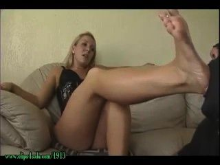 Dirty Feet Clean It Slave