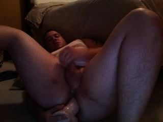 Bear Showing Dildoing Big Fat Ass