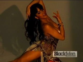 Rosa Acosta-black Men Magazine 100th Anniversary Issue