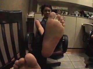 Bg Ebony Feet Ticklishi