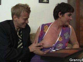 Hot Sex With Slutty Granny