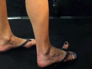 Big Feet Big Flip Flops