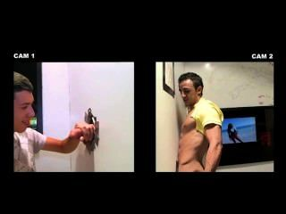 Gay Guy Tricks Amateur Straight Guy Into Blowjob In Gloryhole